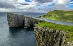 Travel & Adventures: Faroe Islands ( Føroyar ). A voyage to Faroe Islands ( under the sovereignty of the Kingdom of Denmark ), Europe - Tórshavn, Klaksvík, Hoyvík, Argir, Vágur, Fuglafjørður, Vestmanna, Tvøroyri, Sørvágur, Kollafjørður...