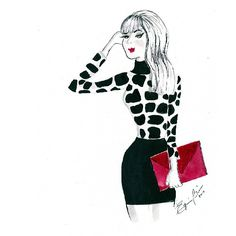 #zebra #animalprint #red #black #purse #falltrends #watercolor #watercoloraccessory #watercolorfashion #fashion #fashionillustrator #fashionillustration #hauties #hautecouture #haute #couture #illustrator #illustration #instafashion #ilovedrawing