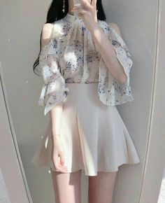 clothes fashion kfashion korean fashion style street style cute kawaii soft pastel aesthetic outfit inspiration elegant skinny fashionable spring autumn winter cozy comfy clothing r o s i e Source by pastelbeige … Korean Fashion Dress, Kpop Fashion Outfits, Girls Fashion Clothes, Ulzzang Fashion, Korean Outfits, Girly Outfits, Asian Fashion, Pretty Outfits, Pretty Dresses