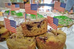 blueberry and asparagus cupcakes at the Empire Asparagus Festival held each year in May includes a cook-off that showcases . . . asparagus!