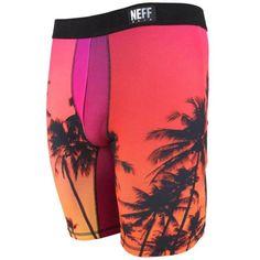 3abe53654170 Neff Wear  Stealth Underwear Sunset Men s Boxer Briefs Urban Graphics  Neff   BoxerBrief Briefs