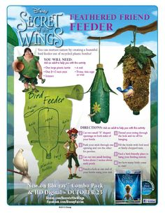 New Tinker Bell Activities for Parties and Just for Fun Tinker Bell Crafts – Cartoon Jr.