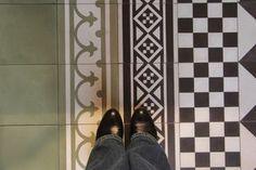 Auro och Byggfabriken Encaustic Tile, Tiles, Inspiration, Decor, Cement, Room Tiles, Biblical Inspiration, Decoration, Tile