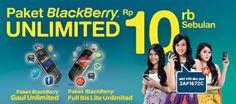 BB Unlimited Rp 10rb Sebulan