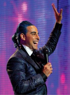 Petition to have Stanley Tucci host the Oscars as Caesar Flickerman from Hunger Games