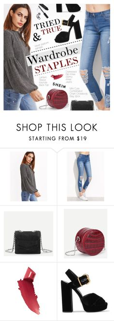 """Tried and True: Wardrobe Staples"" by pokadoll ❤ liked on Polyvore featuring By Terry, Prada and Bobbi Brown Cosmetics"