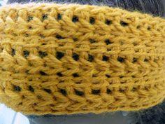 Makeda Speaks: Tunisian Crochet Headband Pattern (FREE!)