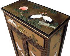 Gold Leaf Cabinet