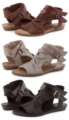 Blowfish Shoes sandal 'Balla' now comes in 3 brand new colors!