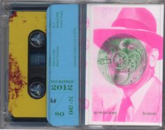 Chrome tapes with risograph artwork designed by Jackie, Amy, and Lee