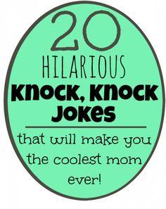 printable knock knock jokes for kids