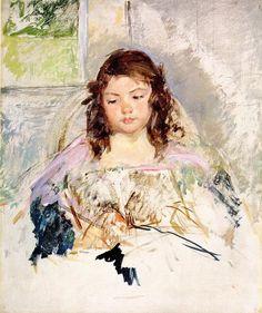 Mary Cassatt Girl in Pink                                                       …
