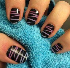 Ribbon Dance! Jamberry Nail Art #jamberry #nailart www.lissaoas.jamberry.com