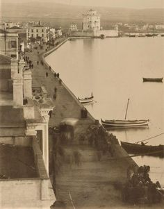Θεσσαλονίκη, Λ.Νίκης, δεκαετία 1880