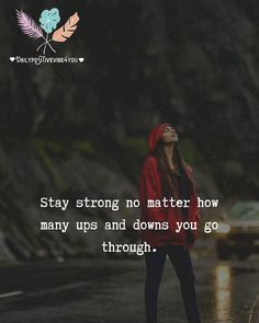 Quotes For Dp, Tough Girl Quotes, Ispirational Quotes, Strong Mind Quotes, Dear Self Quotes, Modern Quotes, Cheer Quotes, Quotable Quotes, True Quotes