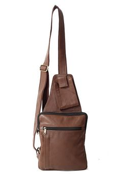 LEATHER ONE STRAP BACKPACK - Leathers Of The Trade