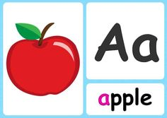 Alphabet Flashcards - Teach A-Z - FREE Printable Phonics Chart! Phonics Alphabet Song, Alphabet Writing Practice, Free Printable Alphabet Letters, Alphabet Cards, Preschool Letters, Preschool Curriculum, Homeschool, Color Flashcards, Letter Flashcards