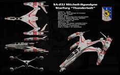 Thunderbolt ortho by unusualsuspex on DeviantArt Spaceship Concept, Spaceship Design, Concept Ships, Science Fiction, The Last Starfighter, Space Fighter, Sci Fi Spaceships, Babylon 5, And So It Begins