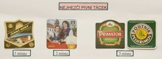 Vítězné pivní tácky. Monopoly, Relax, 1