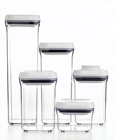 OXO 5-Piece Pop Container Set - Kitchen Gadgets - Kitchen - Macy's $50