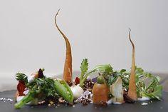 """Le Jardin du Printemps"" is an innovative dish presented at Atelier Crenn in San Francisco."