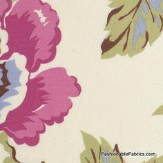 Fabric... Gypsy Caravan Wild Poppy in Linen by Amy Butler