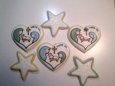 Christmas Nativity (Heart Cookie Cutter)