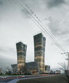 CGarchitect - Professional 3D Architectural Visualization User Community | Aysan tabriz project