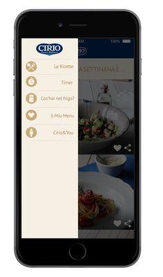 #appCirio #menuCirio #ricette #ricetteCirio