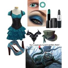 """""""If The cheshire Cat Were Human~"""" by toxickittystudios on Polyvore"""