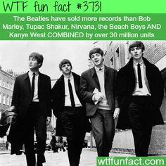 How many records did the Beatles sell? - WTF fun facts
