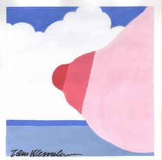 Tom Wesselmann, Study for Seascape Breast, 1966