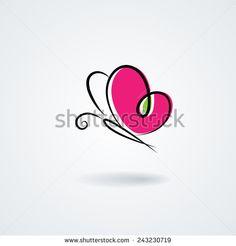 Butterfly Vetores e Vetores clipart Stock | Shutterstock