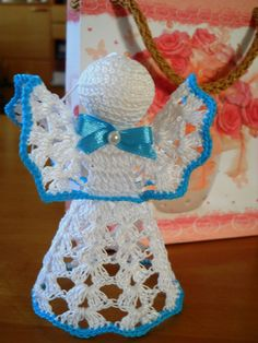 Crochet Angels for All Occasions: Babyshower Decoration, Christening, New Born, Christmas, First Communion, B-day...