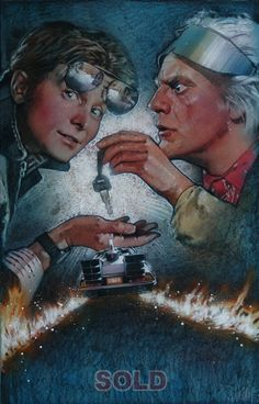 Back to the Future (2) by Drew Struzan