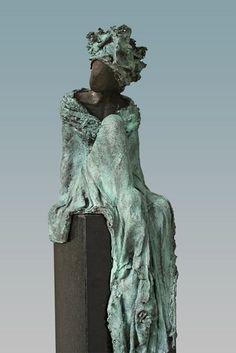 "Kieta Nuij - ""Beschouwen"" | artes plasticas escultura | cool art | a r t | iconoCero"
