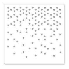 *Simon Says Stamp Stencil FALLING STARS SSST121332