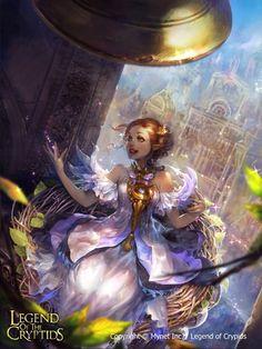 Artist: Unknown name aka neozeonkuk - Title: Unknown - Card: Belfry Fairy Moodie