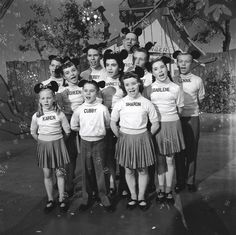 The Mickey Mouse Club, 1955   M.I.C...see you real soon, K.E.Y.....why, because we like you, M.O.U.S.E.