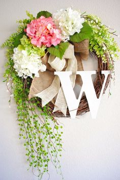 19 Fresh looking Handmade Spring Wreath Designs