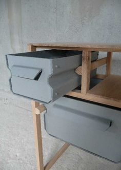 Paper mache furniture