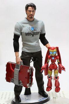 Tony Starks has a new toy.