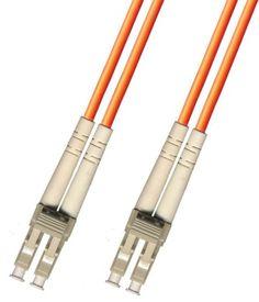 75M Multimode Duplex Fiber Optic Cable (50/125) - LC to LC