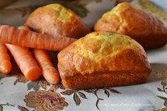 Tortine di carote,camille in versione plumcake,sofficissime e gustose