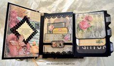 Romantic+Vintage+Parisian+Inspired+Envelope+Mini+Album - Scrapbook.com