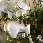 Christmas Mantel Decorating Ideas – Link Party   The Lettered Cottage
