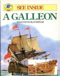 See Inside a Galleon by Jonathan Rutland http://smile.amazon.com/dp/0531190137/ref=cm_sw_r_pi_dp_gguswb1ZXGQ33