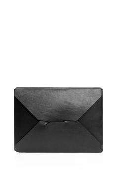 Shop Black Bento Box Clutch by J.W. Anderson - Moda Operandi
