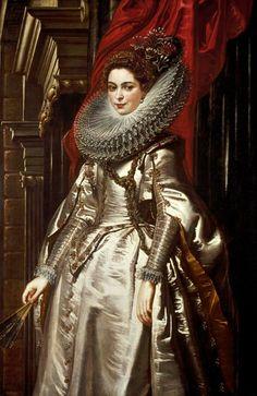 Peter Paul Rubens - Die Marquesa Brigida Spinola Doria.