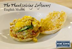 Wow your Thanksgiving Leftovers with this recipe from Chef Tim Love using Thomas' English Muffins!
